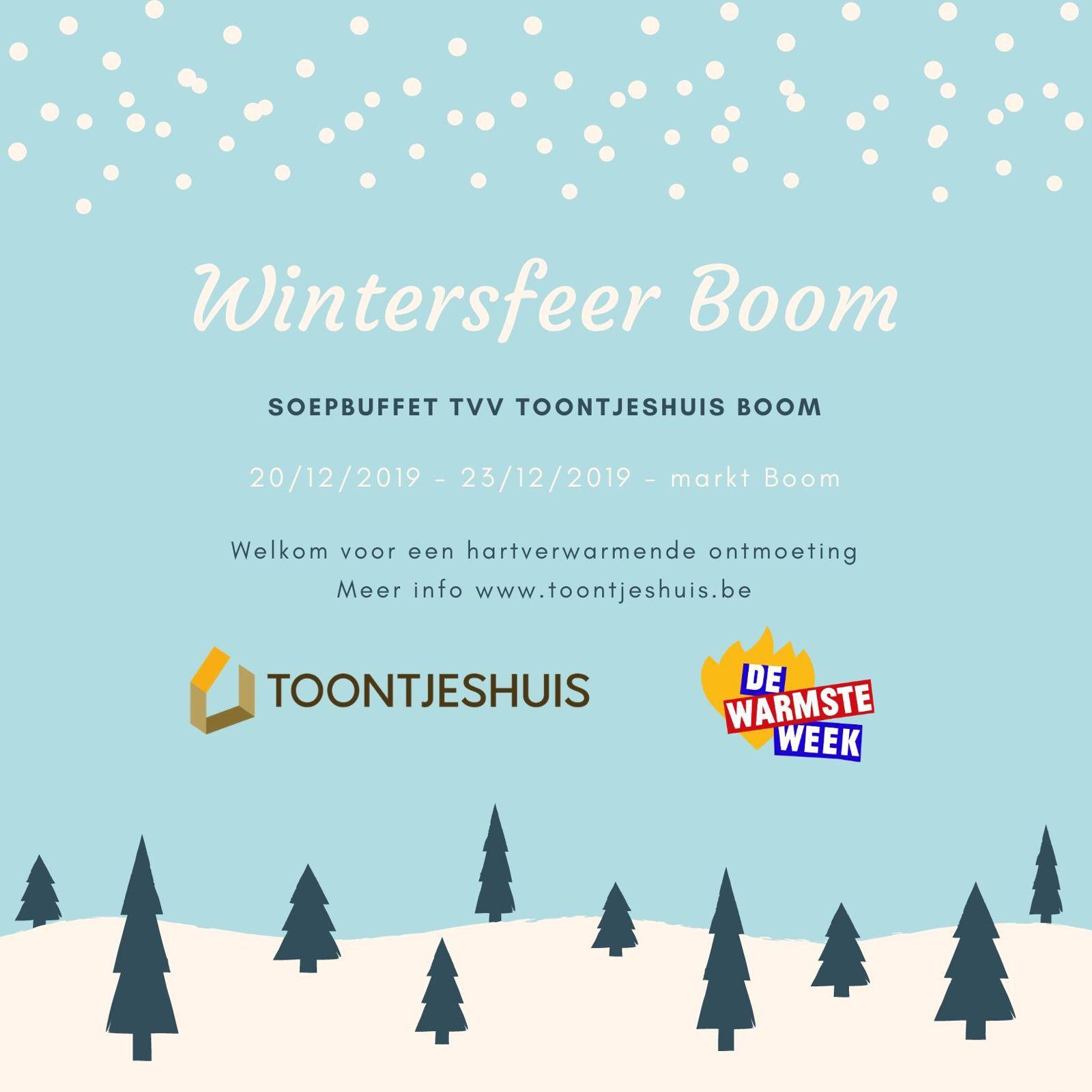 Wintersfeer Boom